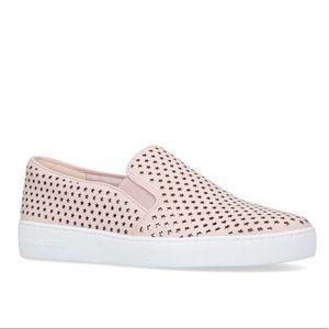 Michael Kors Keaton Pink Star Slip On Sneakers
